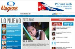Bloguea portada